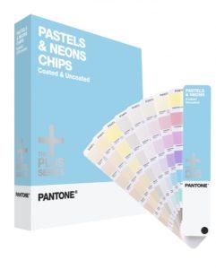 43661b1294 Halvány és neon színek skálája, amely a Formula Guide mintájára egyes  színek keverési arányát tartalmazza. A hét pasztell alapszín: Yellow 0131,  Red 0331, ...